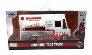 Jada Toys 1/32 Marvel Deadpool Taco Truck metal model car