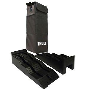 THULE Wheel Leveller 5 Ton Heavy Duty Ramps & Bag - Caravan/Motorhome 307617