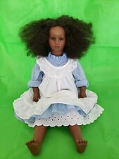 """27� Annette Himstedt Dolls """"Fatou� Barefoot Children Beautiful African American"""