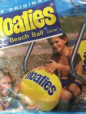 Flaoties 50 cm gonflable ballon de plage piscine Play jeu de lumière jaune Vacances Valise