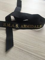 H.M.A.S Armidale GENUINE RAN  TALLY BAND  ~  220+ SHIPS NAMES AVAILABLE .