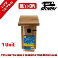Pennington Cedar Bluebird Wild Bird House, Made of Cedar Wood, 1 Unit