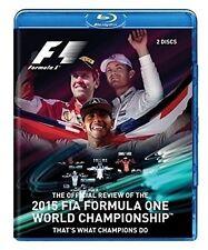 F1 2015 FIA Formula One World Championship Official Review Formel 1 Blu-ray NEU