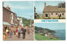 Postcard Heysham Multiview Lancaster Lancashire unposted   (A15)