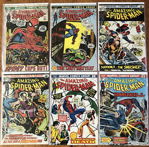 Amazing Spiderman Issues 112-203 Lot Of 33 Comic Books🔥