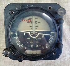 Original USSR Attitude Indicator Gyro Artificial Horizon AGB-3K Air Force