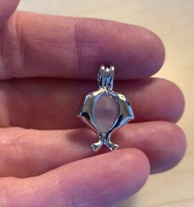 Sterling Silver Dolphin Locket