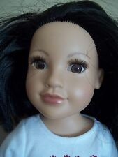 "18 ""  LATINA  ASIAN or  INDIAN ethnic JOURNEY GIRLS callie DOLL"