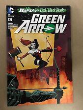 GREEN ARROW #47 HARLEY QUINN TIM SALE COLOR VARIANT COVER 1ST PRINT DC (2016)