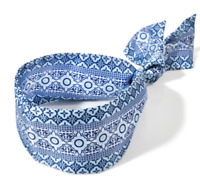 *New* COASTAL BLUE HEAD WRAP ~ Bath & Body Works ~ Ships Free!!!