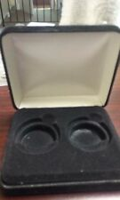 Morgan Silver Dollar Felt Box (Holds 2 Coins in plastic cases) (No Coins)