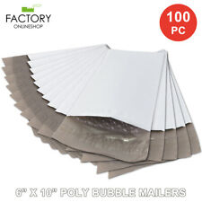 6x10 100 200 300 500 1000 Pc Poly Bubble Mailers 0 Self Sealing Padded Bags