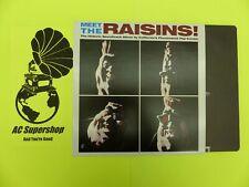 "Meet the Raisins soundtrack - LP Record Vinyl Album 12"""