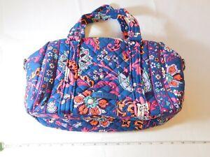 Vera Bradley Iconic 100 Handbag Dragon Fruit Floral 23964-N37 Hand Bag Purse NWT