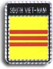 Wholesale Lot 6 South Vietnam Country Flag Reflective Decal Bumper Sticker