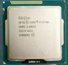 Intel Core i7-3770K Quad-Core CPU SR0PL 3.5 GHz- 3.9 GHZ 8M 77W Socket LGA 1155
