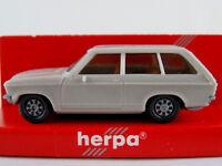 Herpa 2001 Opel Ascona A Voyage (1970) in hellgrau 1:87/H0 NEU/OVP