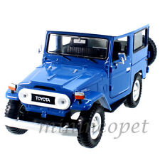 MOTORMAX 79323 TOYOTA FJ40 FJ 40 LAND CRUISER 1/24 DIECAST MODEL CAR BLUE