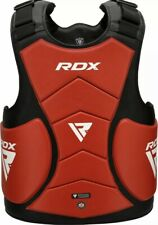 RDX Boxing Chest Guard MMA Belly Body Protector Martial Arts Rib Shield Armour U