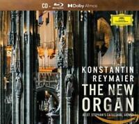 Konstantin Reymaier - New Organ At St.Stephan's CD+BLU-RAY NEU OVP VÖ 02.10.2020