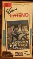 LO VERDE EMPIEZA EN LOS PIRINEOS. JOSE LOPEZ VELAZQUEZ,  RARE SPANISH VIDEO