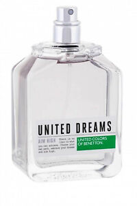 United Dreams Aim High for Men by Benetton Eau de Toilette Spray 100ml