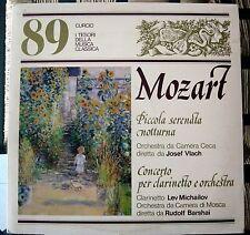 """I Tesori della musica classica 89 - Curcio - Mozart - 33 giri 12"""""""
