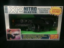 1992 VTG X2 NITRO BLASTER TRENDMASTERS TOY LASER GUN NEW IN BOX