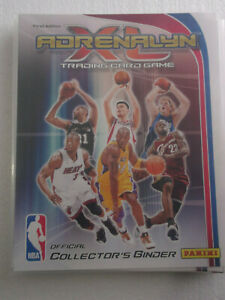 2009-10 Panini Adrenalyn XL 300 card with binder Curry / Griffin rookie / LeBron