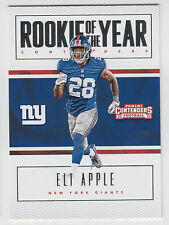 ELI APPLE 2016 Panini Contenders Rookie of the Year Contender #28 Giants