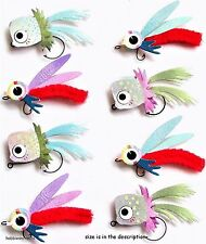EK SUCCESS JOLEE'S BOUTIQUE 3-D STICKERS - FISH ANGLING - FISHING LURES REPEATS