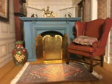 Houseworks Jamestown fireplace and Classics by Handley firescreen