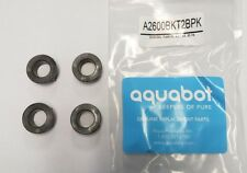 Bushing, Aqua Products, Plastic, Black,  4  Pack