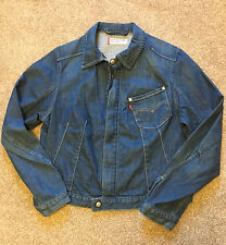 GORGEOUS LEVI STRAUSS & CO WOMENS DENIM JACKET L LARGE SUIT 14 - 16 COST £75