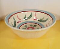 """Robinson Ransbottom Pottery RRP Mixing Bowl RUSTIC WARE 11-3/8"""" Roseville, OH"""