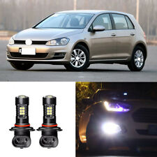 2x Canbus H11 3030 21SMD LED DRL Daytime Running Fog Lights Bulbs For VW Golf 7