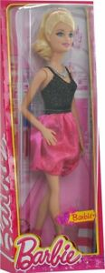 Barbie Fashionista Party Glam Barbie Doll, Pink and Black Dress