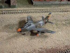 Fiat G.91 LUFTWAFFE STATIC AIRPLANE, SCALE 1/100???
