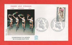 FDC 1972 - Championnat du Monde de cyclisme sur piste    (1383)