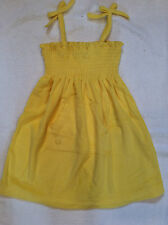 NWT Chaps Yellow Tie Strap Terry Dress 4