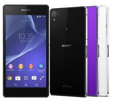 "New Original Sony Xperia Z2 D6503 16GB (Unlocked) 5.2"" GPS Smartphone Black"
