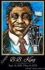 B.B. King Tribute Poster by Cadillac Johnson