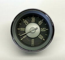 VW TYPE 3 ISP WHITE NEEDLE TACHOMETER 0-6,000 RPM DASH GAUGE 12 VOLT REV COUNTER