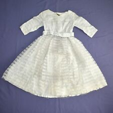 Cream Lace At Children Dress Size 158 Flower Girl Communion Gala Dress