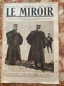 Militaria Journal LE MIROIR n°106 du 5-12-1915 (envoi monde gratuit)