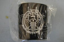 LAMB OF GOD SHIELD DRINKS COOLER NEW OFFICIAL RARE REDNECK WRATH RESOLUTION
