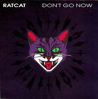"RATCAT Don't Go Now & The Lie 7"" 45 rpm vinyl record + juke box title strip"