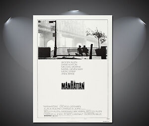 Manhattan Woody Allen Vintage Movie Poster - A1, A2, A3, A4 available