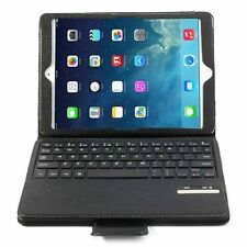 Leather Case With Keyboard and Bluetooth 3.0 with Detachable Stand MicroUSB open