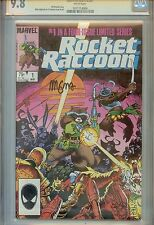 Rocket Raccoon #1 CGC 9.8 (NM/M) Signature Series Autographed by Mike Mignola